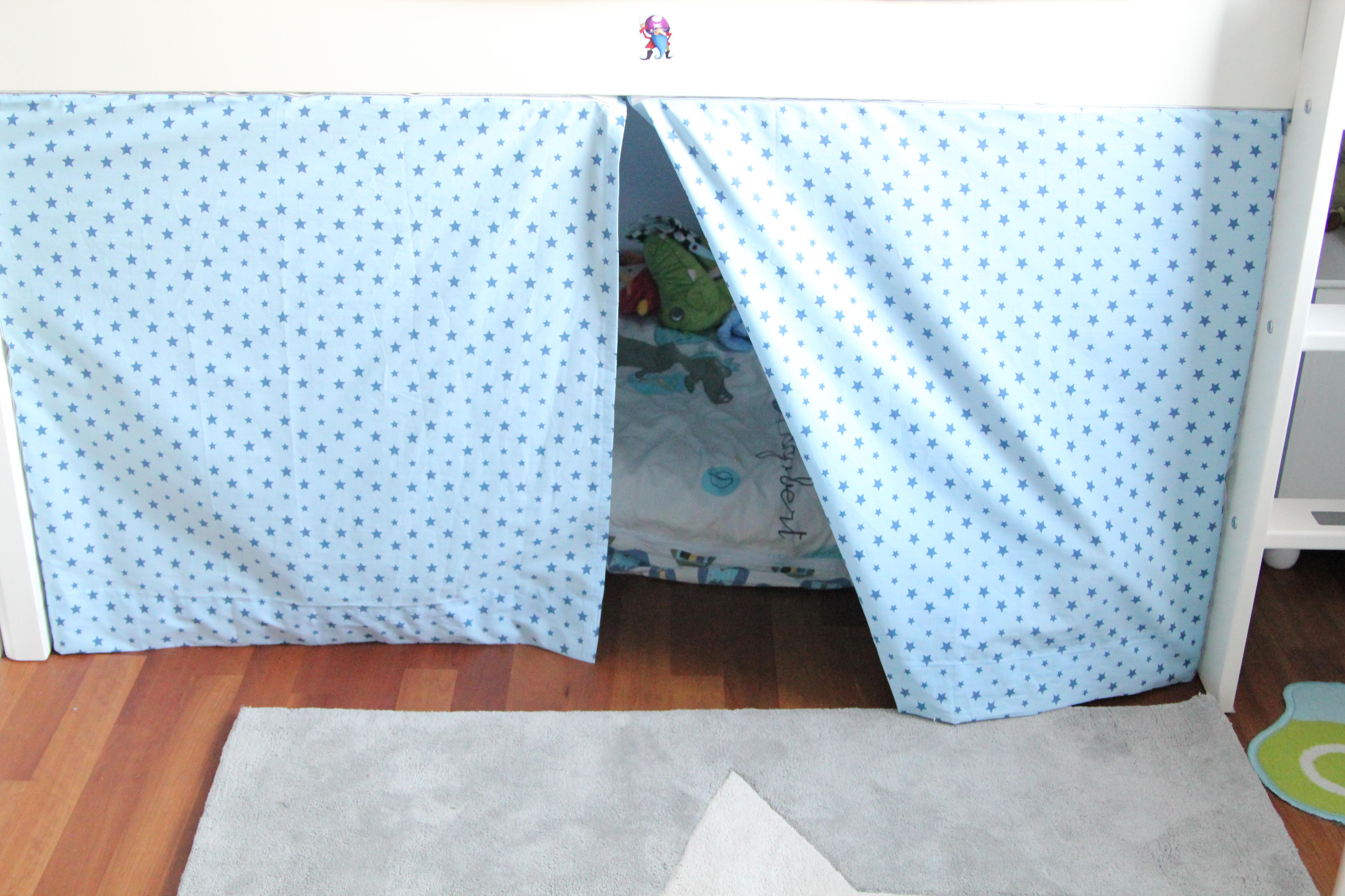 Vorhang Etagenbett Selber Nähen : Himmel für kinderbett selber nähen u inspirierende