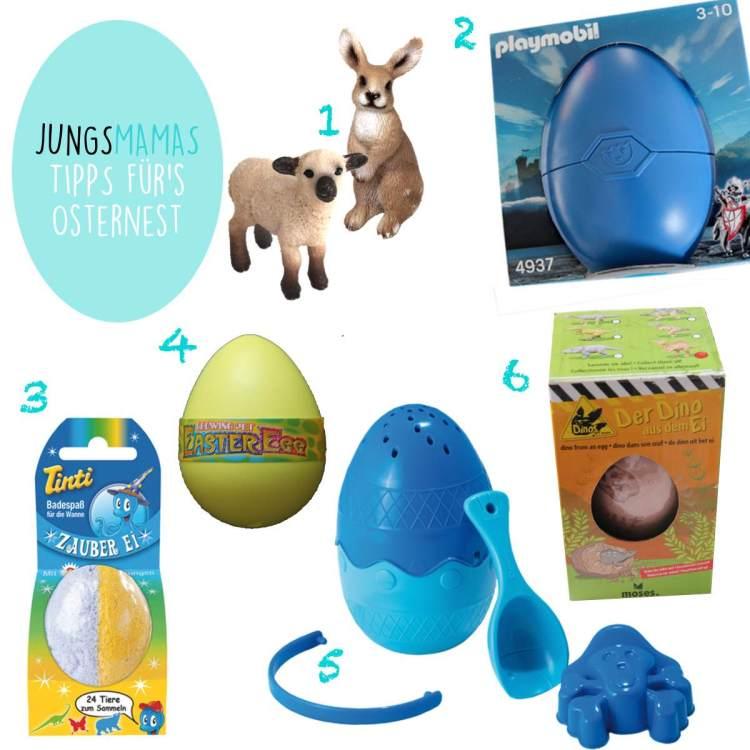 Oster-Geschenke für kleine Jungs