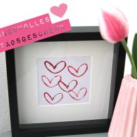 DIY: Muttertags-Geschenk von Herzen