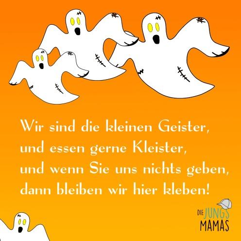 Halloween Spruch Wir Sind Die Kleinen Geister