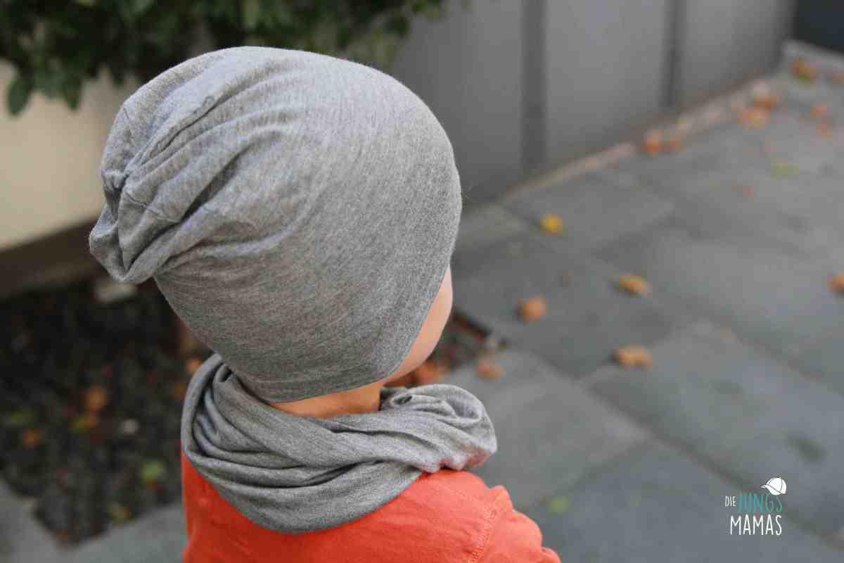 DIY: Coole Beanie-Mütze und Loop-Schal nähen