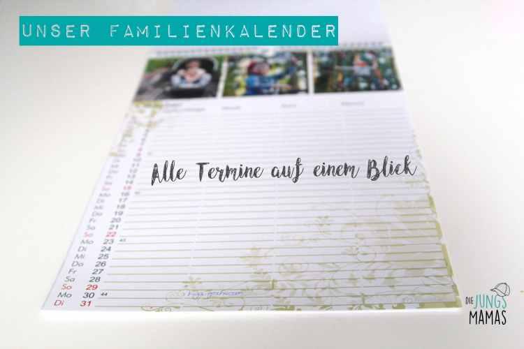 Unser Familienkalender _Die JungsMamas
