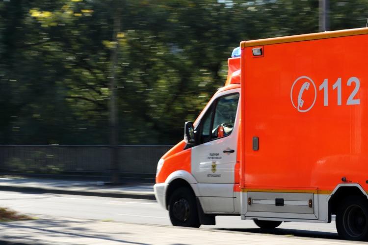 Krankenwagen Fieberkrampf