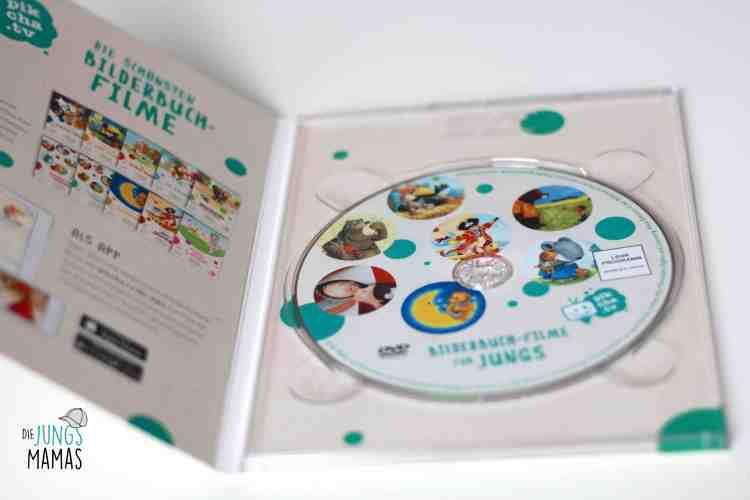 Bilderbuch-DVDs für Jungs von pikcha.tv - Die JungsMamas