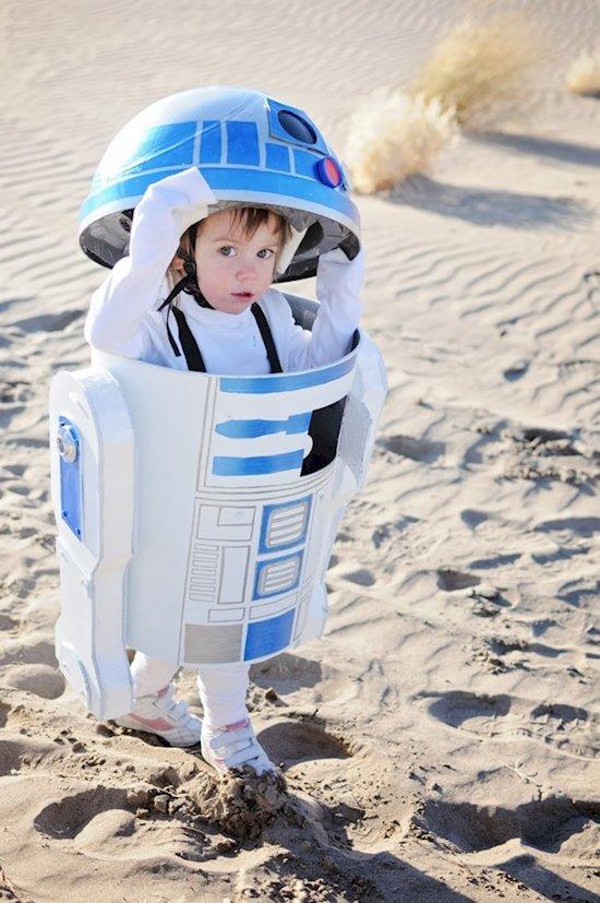 Die coolsten Faschingskostüme für Jungs - R2D2 Kostüm
