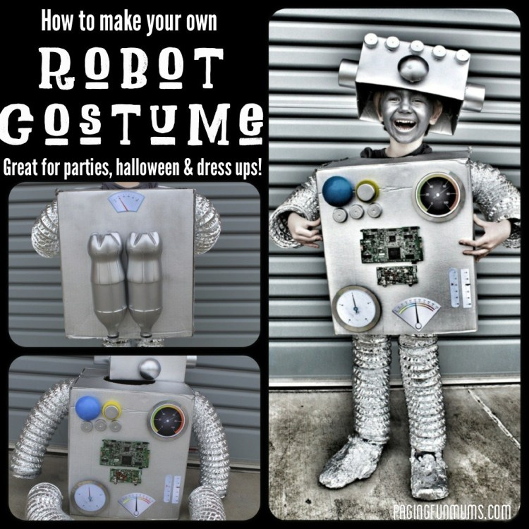 DIY Roboter Kostüm Tutorial _Die JungsMamas