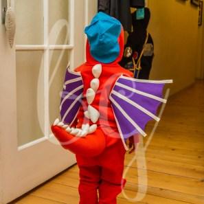 Die coolsten DIY Faschingskostüme für Jungs: Drache Kokosnuss Kostüm selber nähen