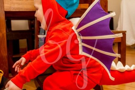 Die coolsten Faschingskostüme für Jungs: Drache Kokosnuss Kostüm