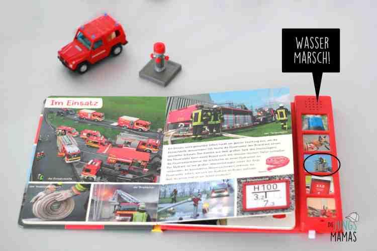 Blick in das Soundbuch Feuerwehr _Die JungsMamas