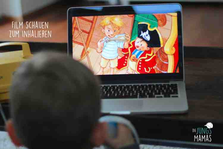 Die Jungs dürfen Filme schauen, während sie inhalieren _Die JungsMamas