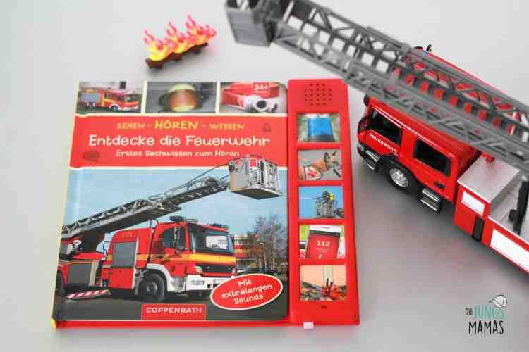 Soundbuch Feuerwehr mit tollem Sound