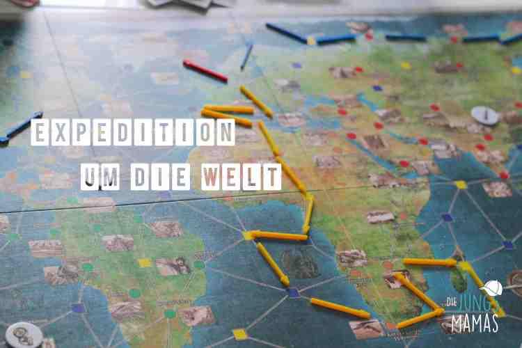 Expedition um die Welt - das Spiel von Amigo _ Die JungsMamas
