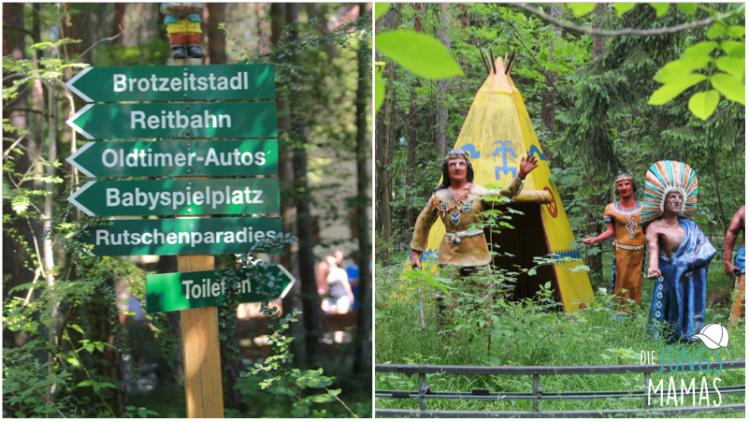 Fahrt Tuch den Märchenwald_Die JungsMamas