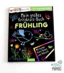 Kritzkratz-Buch vom Ars Verlag _ Die JungsMamas