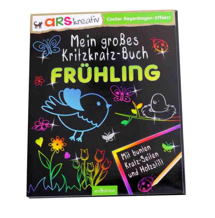 KritzKratz-Buch Frühling vom Verlag Ars Edition_DIE JUNGSMAMAS