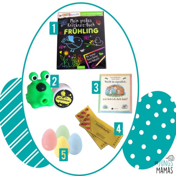 Kleine Ostergeschenk-Ideen von DIE JUNGSMAMAS