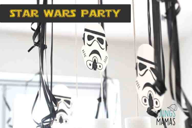 Star Wars Party - tolle DIY Ideen _ Die JungsMamas