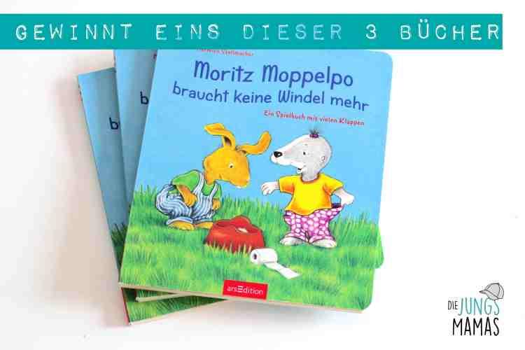 Gewinnt eins von 3 Büchern Moritz Moppelpo_Die JungsMamas