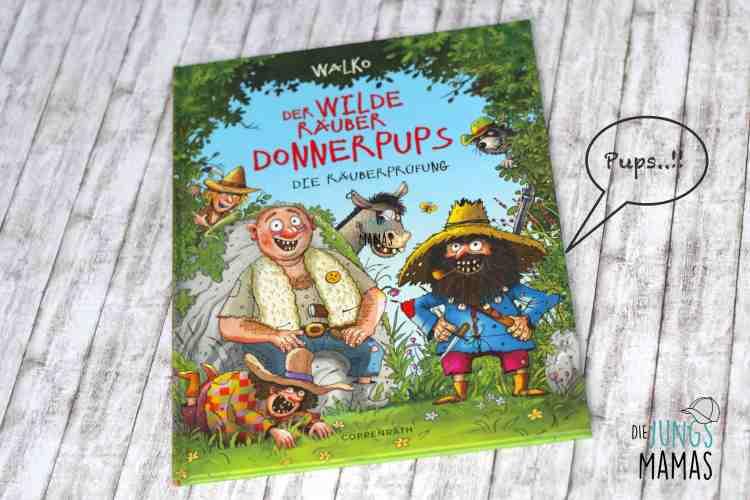 Lieblingsbuch Wilder Räuber Donnerpups_Die JungsMamas