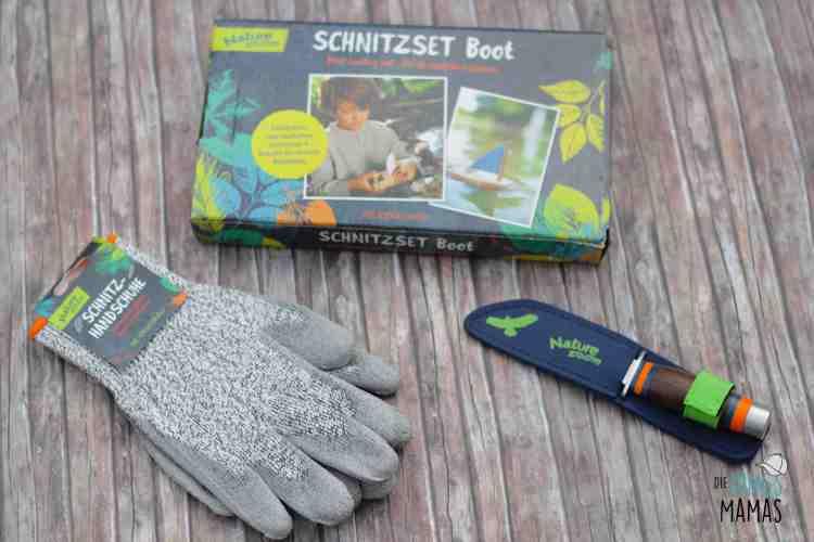 Schnitzset für Kinder mit Schnitzmesser und Schnitz-Handschuhen_Die JungsMamas