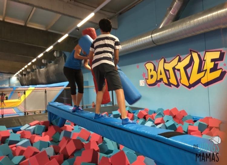 Battle Beam im AirHop_Die JungsMamas