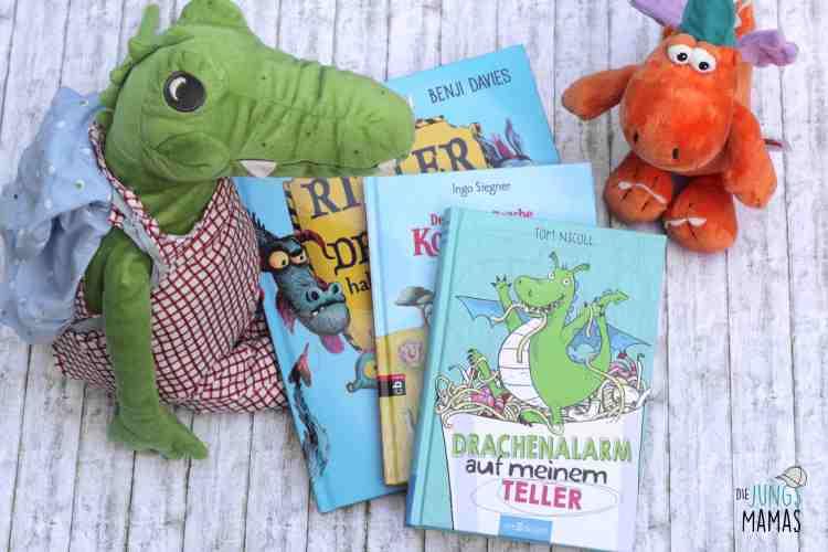 Die besten Drachenbücher für kleine Drachenfans_Die JungsMamas