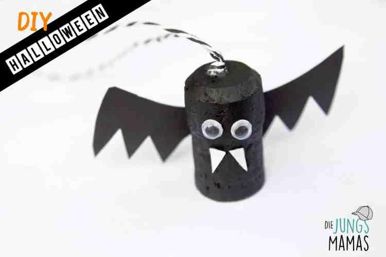 DIY für Halloween aus Korken_Die JungsMamas