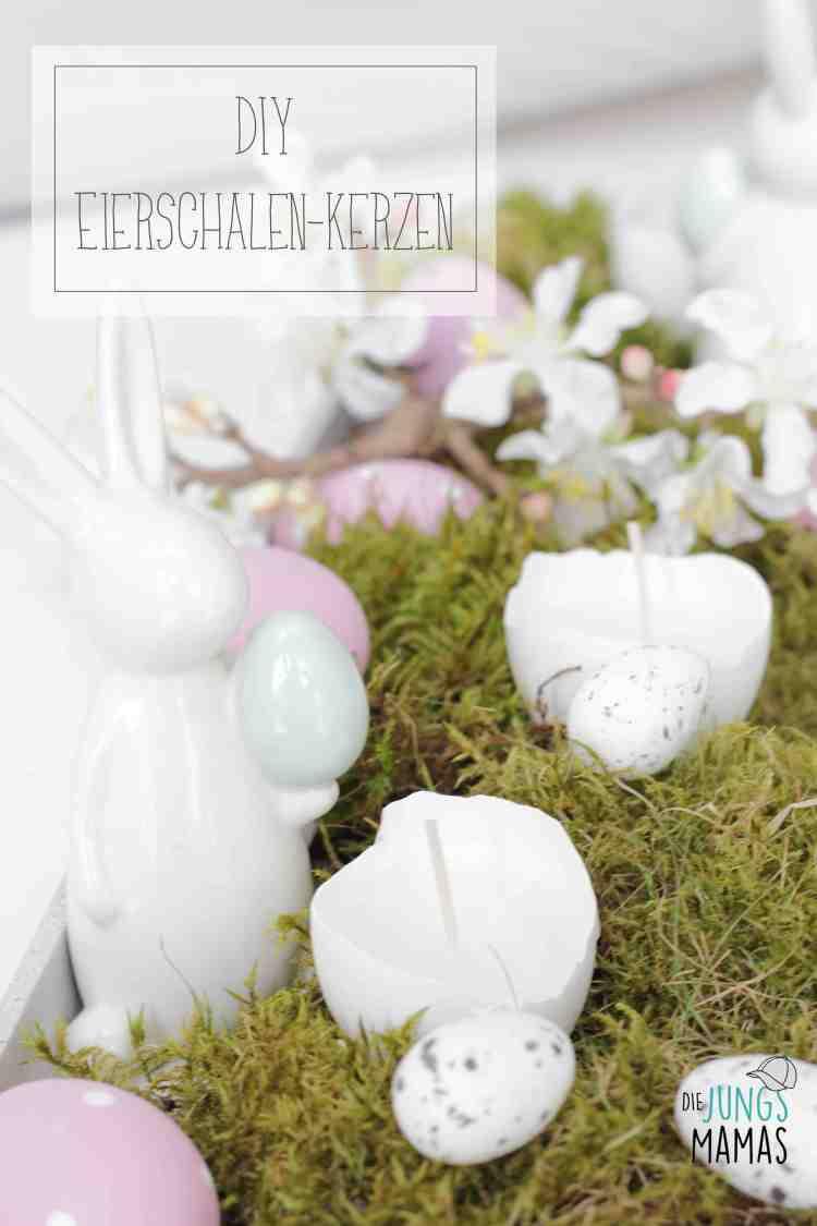 Tolle Eierschalen-Kerzen für die Osterdeo_Die JungsMamas