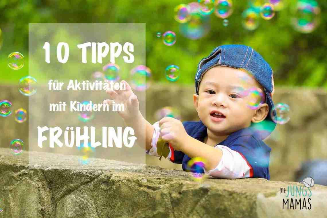 10 Tipps für Aktivitäten mit Kindern im Frühling_Die JungsMamas - Bildquelle: Pixabay