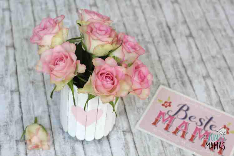DIY Vase zum Muttertag _ Die JungsMamas