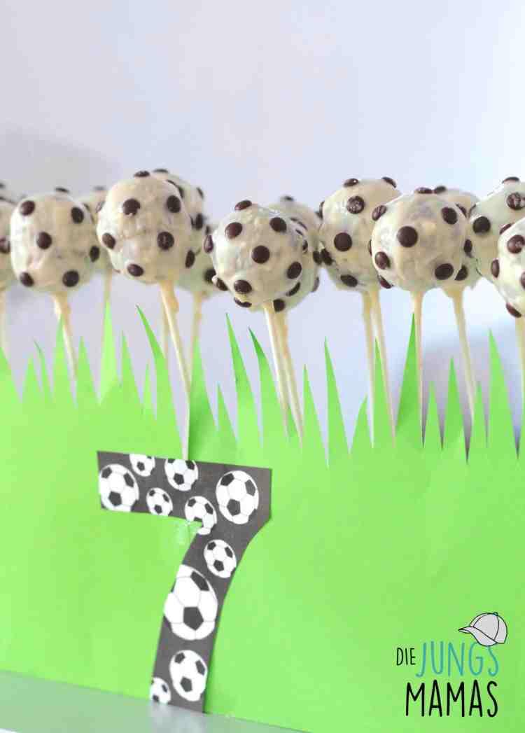 Leckere Fußball Cake Pops _Die JungsMamas