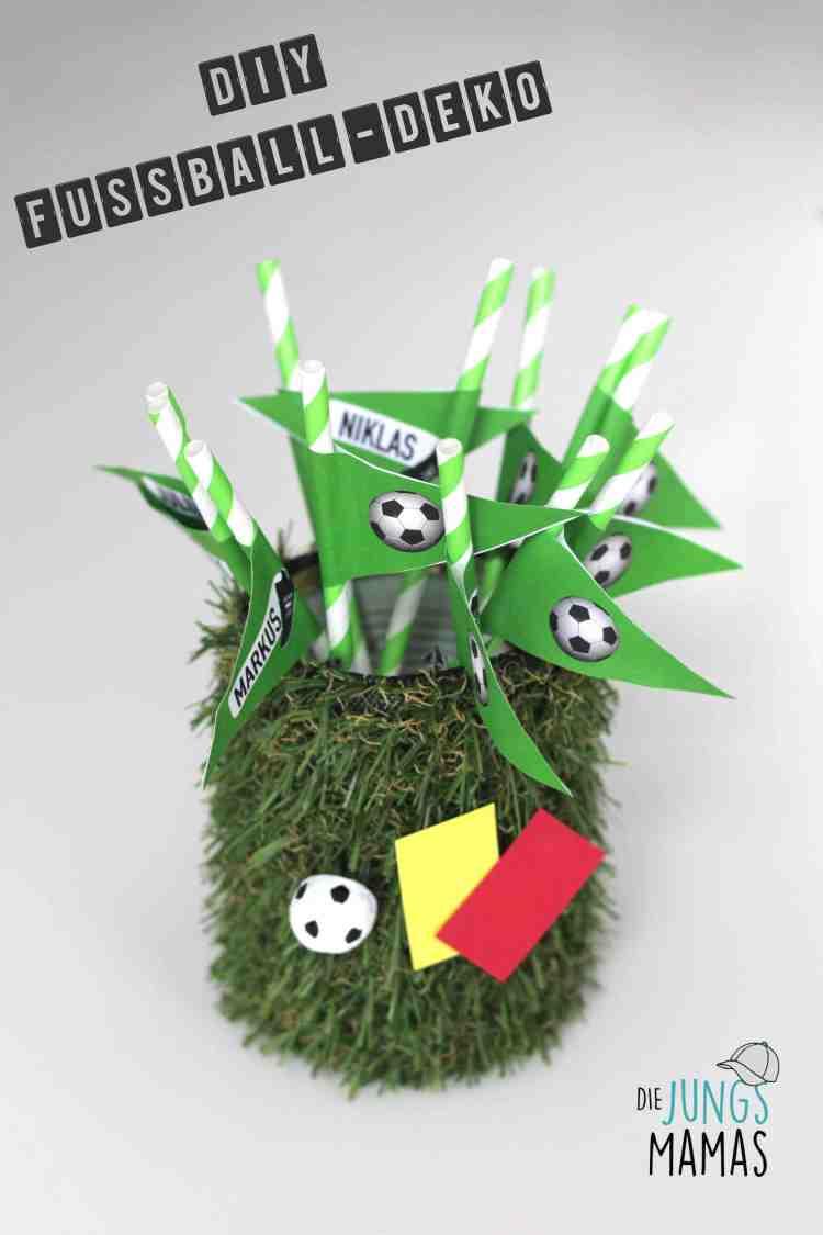 DIY Fußball-Deko_Die JungsMamas
