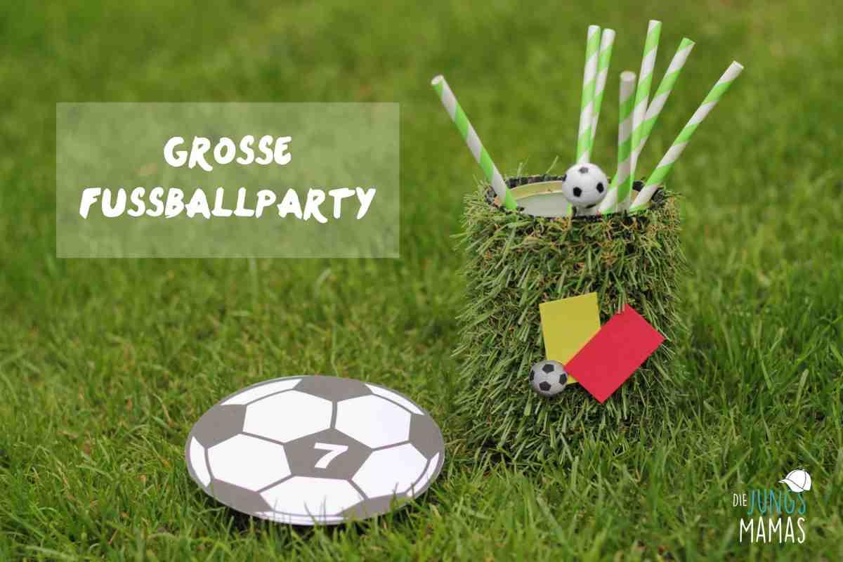 Große Fußball-Party