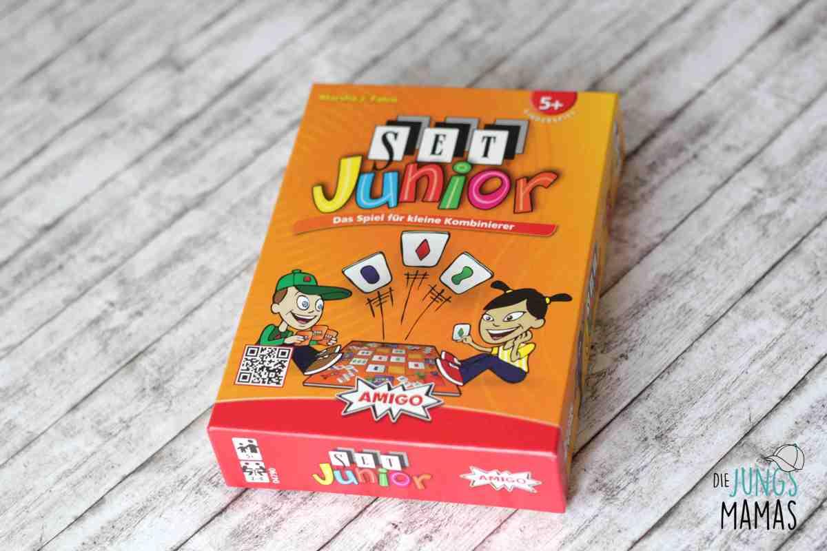 Logisch kombinieren lernen mit dem Spiel SET Junior + Gewinnspiel