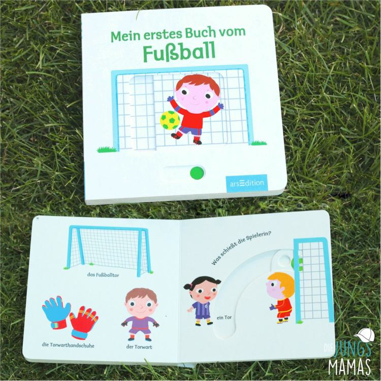 Mein erstes Buch vom Fußball _ Die JungsMamas