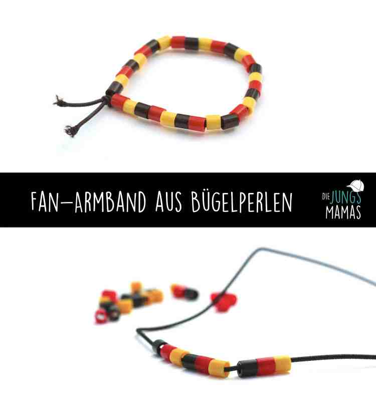 Schnelles Fan-Armband aus Bügelperlen basteln_Die JungsMamas