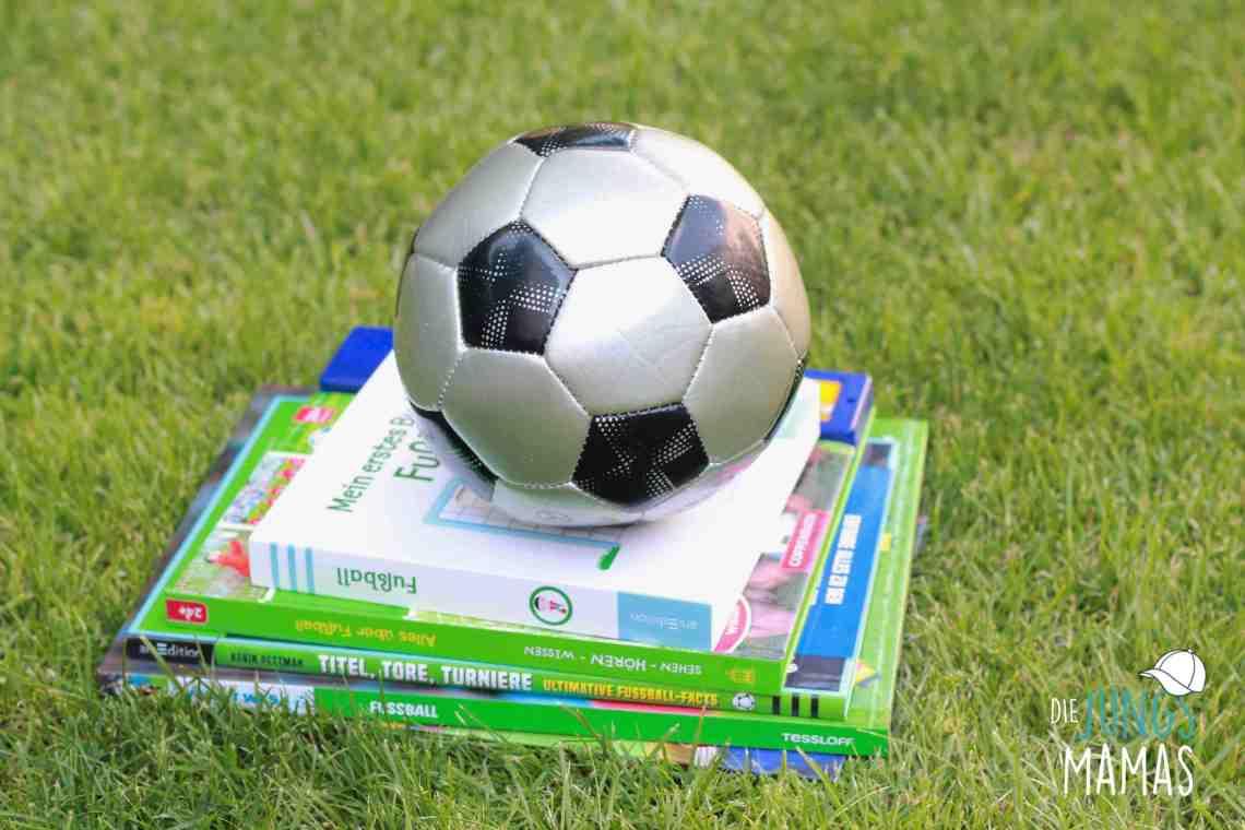 Fußball-Bücher für Kinder zur WM_Die JungsMamas