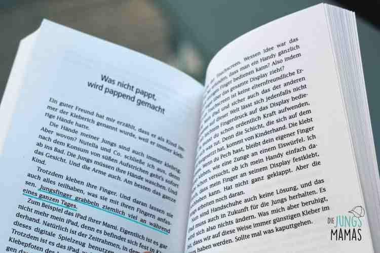 """Blick ins Buch """"Meine wilden Kerle"""" _Die JungsMamas"""
