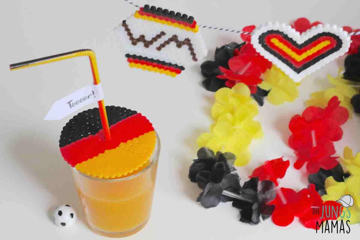 Coole WM-Deko aus Bügelperlen
