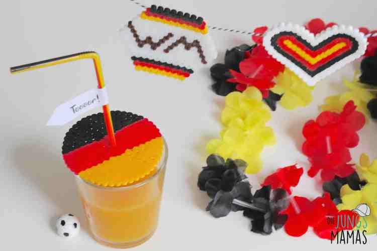 Schnelle und einfache WM-Deko aus Bügelperlen_Die JungsMamas