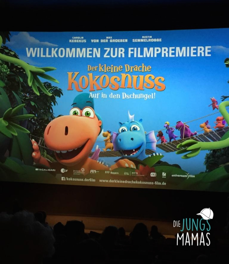 """Filmpremiere """"Drache Kokosnuss - Auf in den Dschungel""""_Die JungsMamas"""