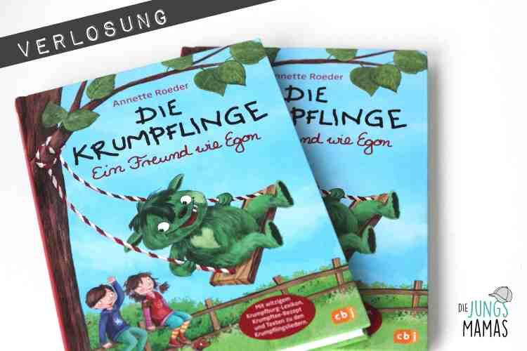Verlosung Gewinnspiel von 2 Krumpfling-Büchern_Die JungsMamas