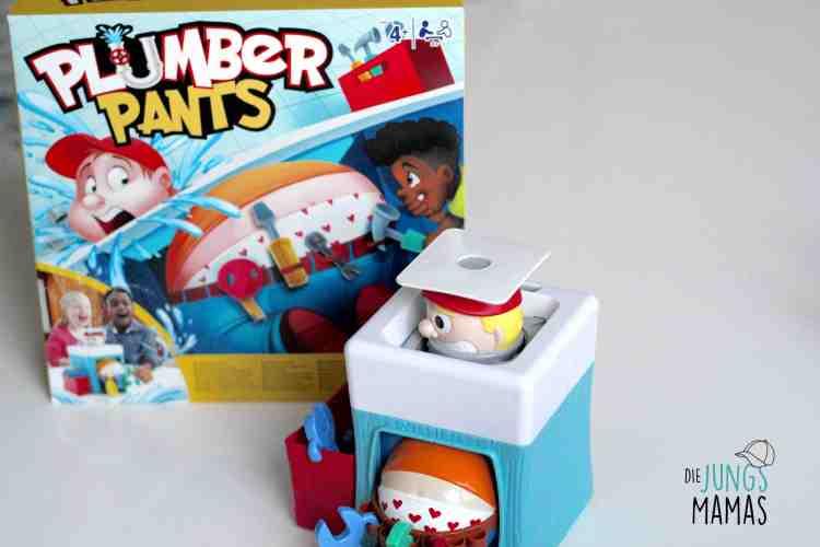 Wir zeigen Euch das lustige Plumber Pants Spiel von Hasbro + ein Gewinnspiel_Die JungsMamas